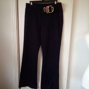 Cache condor collection black pants size 8
